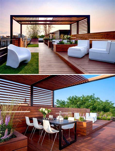 modern rooftop design   outdoor sanctuary homemydesign