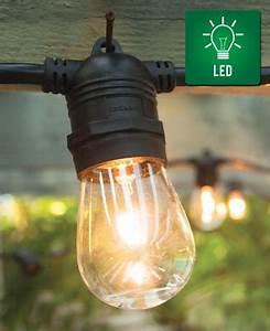 Light Socket Cord Set 15 Socket Outdoor Led Light Set With 31 39 Black Cord