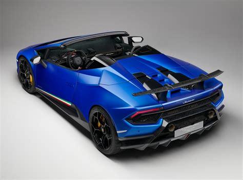 2019 Lamborghini Huracan Performante Spyder Makes Jaws