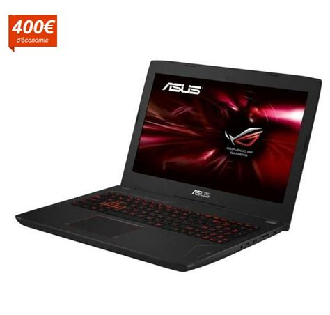 promo pc portable gamer asus rog pc gamer fx502vm dm347t pas cher ordinateur