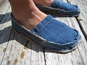 Nähen Aus Alten Jeans : schuhe aus alten jeans n hen n hen pinterest the christmas christmas gifts and christmas ~ Frokenaadalensverden.com Haus und Dekorationen
