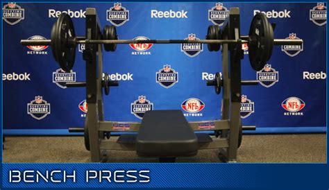 nfl combine bench press should pitchers bench press