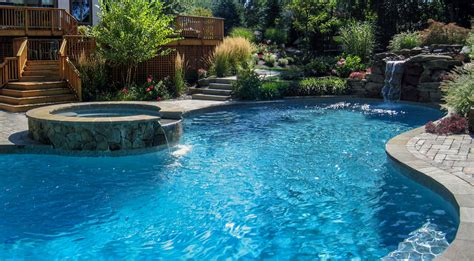 pic of pool swimming pool design portfolio serving north jersey clc landscape design