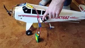 Supercub Rc Plane Wiring And Binding Process