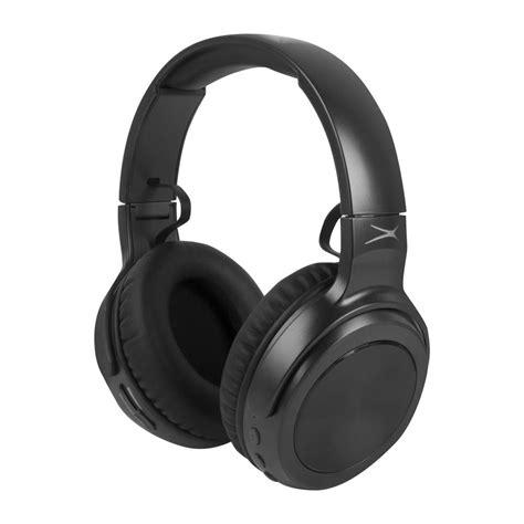 altec lansing rumble bluetooth headphones  black mzx blk  home depot
