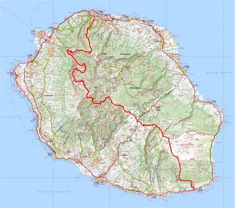 code postal denis la reunion grr2 hiking from st denis to st philippe reunion island