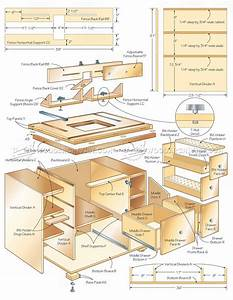 Router Table Cabinet Plans • WoodArchivist