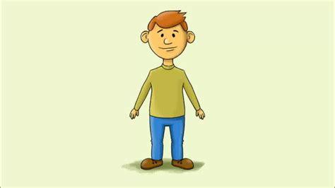 Einen Kartoon Mann Malen