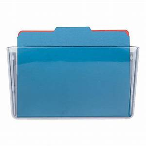 oic single pocket wall files letter size clear by office With single wall pocket letter size