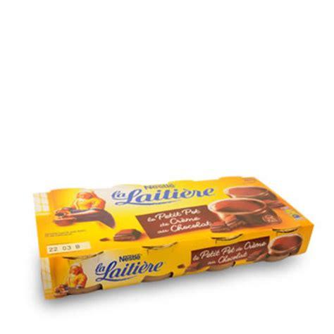 petit pot de creme la laitiere la laitiere petit pot de creme chocolat x8 tous les produits sp 233 cialit 233 s p 226 tissi 232 res