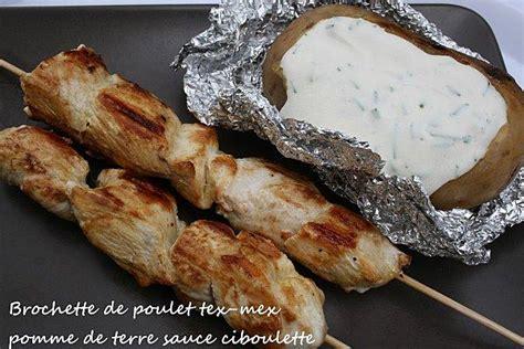 pomme de terre au barbecue sauce creme ciboulette 192