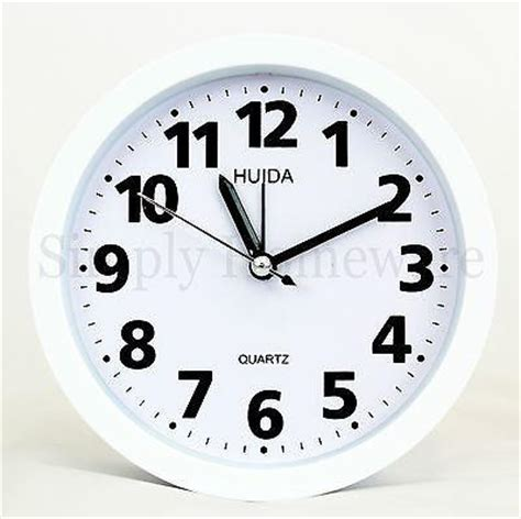 analog alarm clock analogue wall clocks bright light
