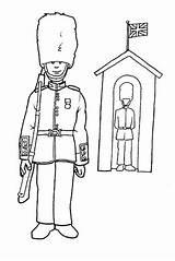 Coloring Guard Royal Pages 為孩子�的�色頁 下午 �帖者 时间 Edward sketch template
