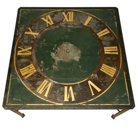 awesome antique continental clock face   newer steel