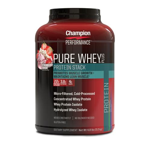 Amazon.com: Champion Performance - Pure Whey Plus Protein