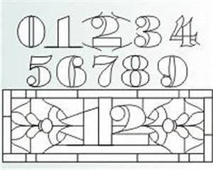 1000 images about stained glass numbers letters on With stained glass letters and numbers