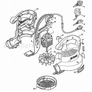 Stihl She 81 Shredder  Vac  She 81  Parts Diagram  Electric