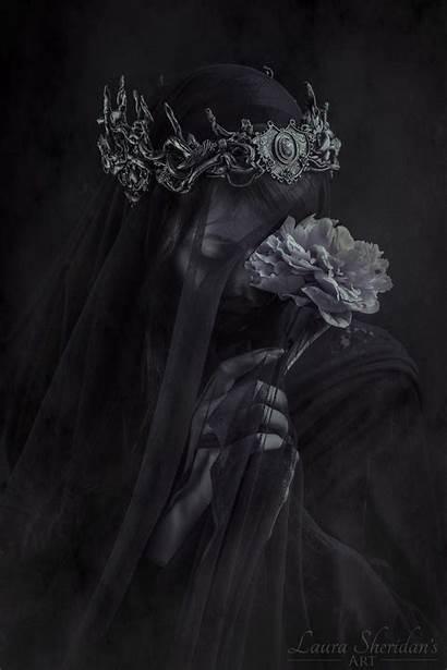 Crown Fantasy Dark Veil Fox Laura Aesthetic