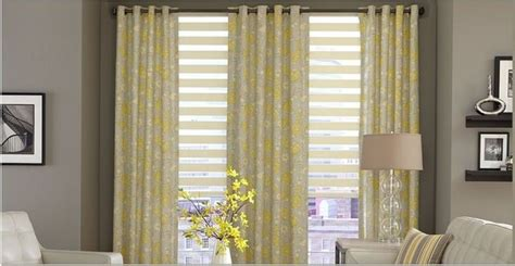 living room horizontal sheer shades curtains