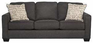 Signature design by ashley alenya charcoal 1660139 for Ashley sleeper sofa