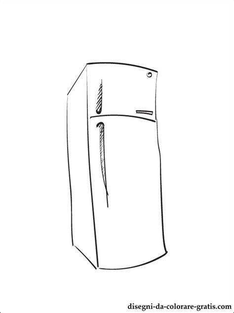 disegno  frigorifero da stampare disegni da colorare