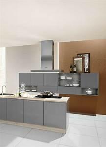 Moderne Fliesen Küche : graue k che die 6 sch nsten ideen und bilder graue ~ A.2002-acura-tl-radio.info Haus und Dekorationen