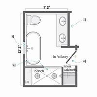 bathroom floor plan 25+ best ideas about Small Bathroom Plans on Pinterest | Bathroom plans, Small bathroom layout ...
