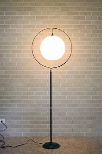 turn a birdcage stand into a mod floor lamp a beautiful mess With floor lamp with plant stand