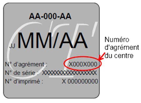 retrouver un contr 244 le technique - Retrouver Controle Technique Avec Numero D Agrement