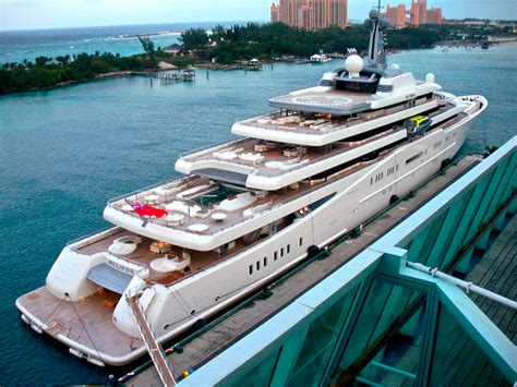 Boat Rides From Miami To Nassau by Luxury Yacht Eclipse Docked In Nassau Bahamas Select Yachts