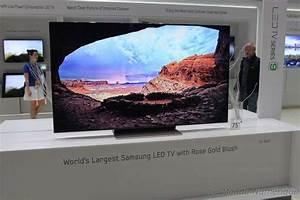 Tv Samsung 55 Pouces : ifa 2012 tv 75 pouces led chez samsung avec des ~ Melissatoandfro.com Idées de Décoration