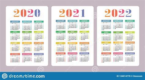 41+ Printable Calendar For 2020 2021 2022  Background