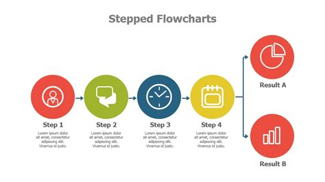 powerpoint flowchart template free powerpoint flowchart templates