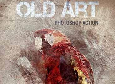 art photoshop action  graphicux