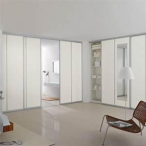 Schiebetür Glas Bauhaus : schiebet r bauset platz da wei walnuss max raumh he 2 ~ Watch28wear.com Haus und Dekorationen