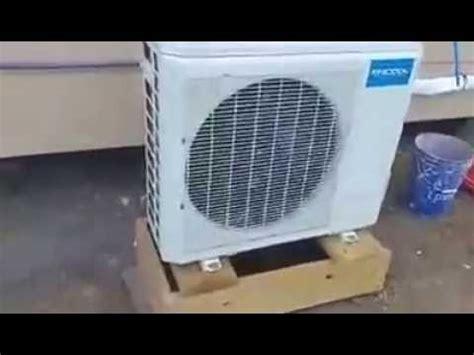 mrcool diy ductless mini split heat pump review youtube