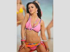 Amy Jackson Sexy Bikini Beach Exposing 2014 Hot Photos
