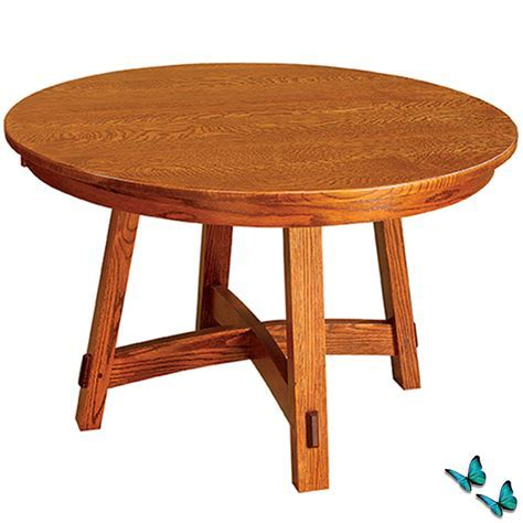 Small Round Dining Table: Amish Dining Room Table Kitchen