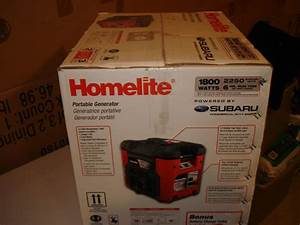 Brand New  110 Off  Homelite 1800