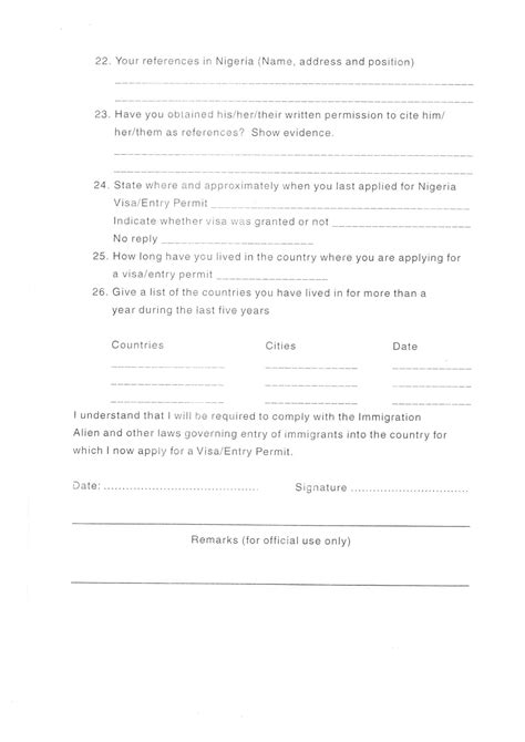 application letter format nigeria shell cover letter