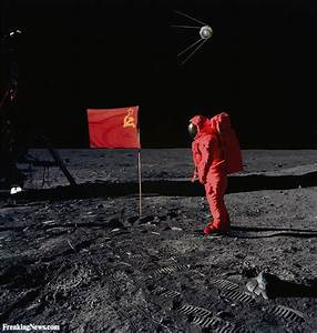 Russian spacecraft landed on moon hours before Americans ...