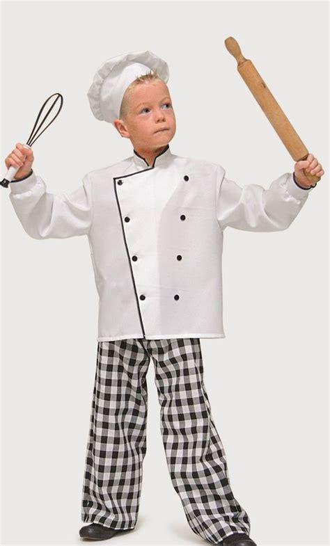 ustensiles cuisine pro costume de cuisinier pour enfant v49268