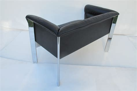 Vintage Poltrona Frau Lounge Sofa Couch. B & B Italia