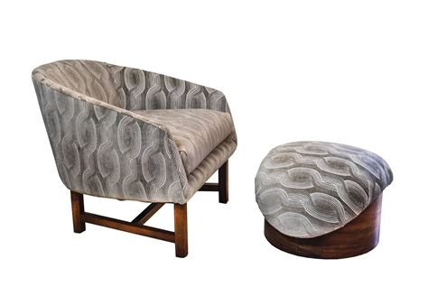 reading chair and ottoman mid century modern reading chair and ottoman for sale at