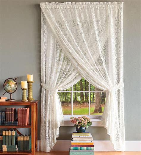 lace curtains decor