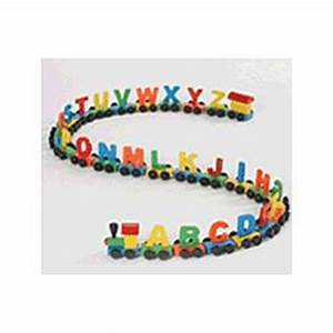 magnetic alphabet train findgiftcom With magnetic train letters