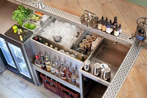 Home Bar Station by бар 10 фотографий Best Home Bars In 2019 Portable