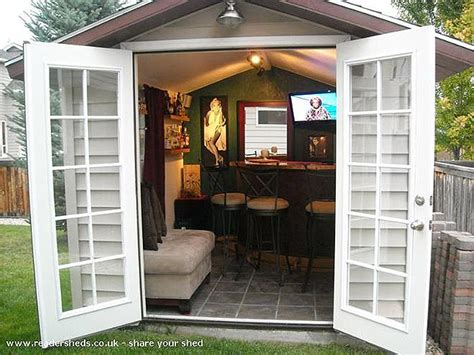 Shed Pubs by Is Your Shed Not Pouring Enough Convert It Into A