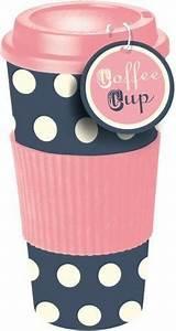Mug à Emporter : mug tasse a emporter voyage avec couvercle thermos rose bleu pois caf th cuisine ~ Teatrodelosmanantiales.com Idées de Décoration