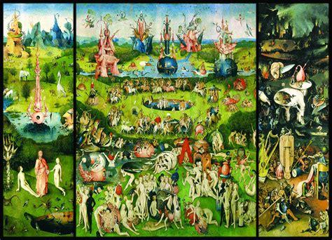 in the garden of earthly delights the garden of earthly delights triptych jigsaw puzzle